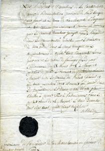 Un document insolite